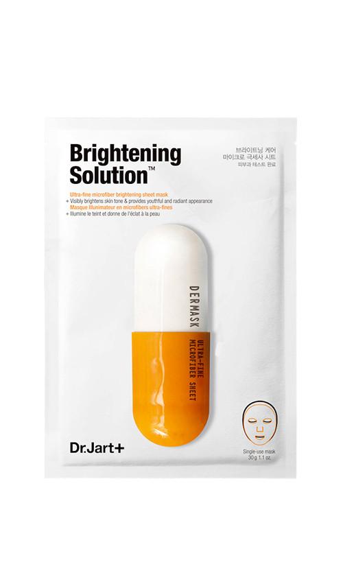 Южная Корея Dr.Jart Dermask Solution Brightening - Маска тканевая детокс