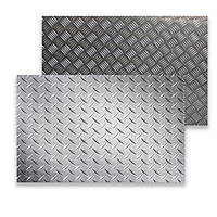 Алюминиевый рифленый лист Квинтет 1,0х1000х2000 мм