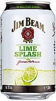 Jim Beam Lime Splash 10% 330 ml