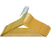 Вешалка для одежды с нарезами, 12 мм толщ (10шт.)