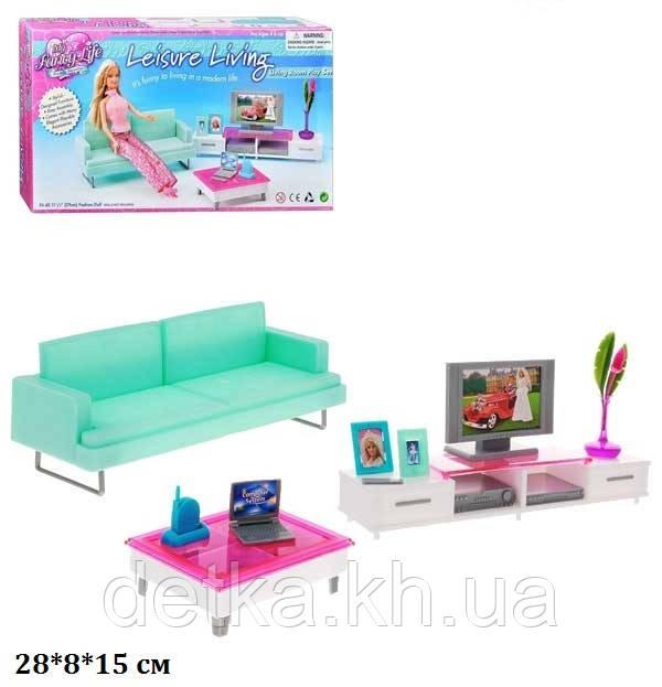 Мебель кукольная гостинная Gloria 2804