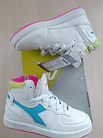 Осенние ботинки на девочку  diadora. размер 31.5