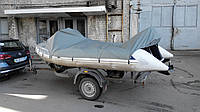 Тент на надувную лодку