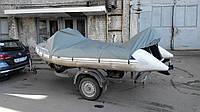 Тент транспортировочный на надувную лодку. Индивидуальный пошит тентов в Харькове.
