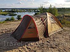 Премиальная туристическая палатка (3-х местная) от американского бренда GreenCamp, фото 2