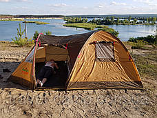 Премиальная туристическая палатка (3-х местная) от американского бренда GreenCamp, фото 3