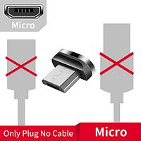 Коннектор Micro USB для магнитного кабеля Essager быстрая зарядка Android Samsung Xiaomi