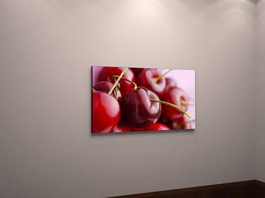 Картина вишни черешни для кухни холст