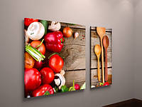 Картина модульная недорого для кухни