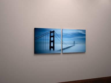 Картина модульная пейзаж мост