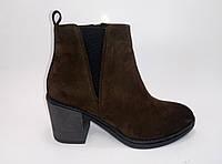 Женские замшевые демисезонные ботинки ТМ Santini, фото 1