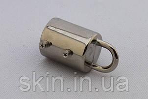 Ручкодержатель-боченок, диаметр 20 мм, цвет - никель, артикул СК 5533, фото 2