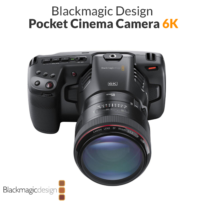 Камера Blackmagic Design Pocket Cinema Camera 6K (Canon EF) (CINECAMPOCHDEF6K)