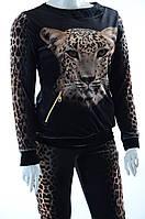 Велюровый женский спортивный костюм 7445, фото 1