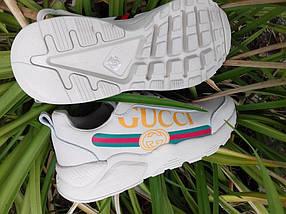 Женские кроссовки Gucci. Живое фото, фото 2