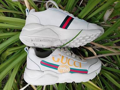 Женские кроссовки Gucci. Живое фото