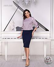 Костюм юбка та блузка гарна якість  від Стильномодно