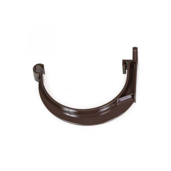 Держатель желоба Fitt пластиковый 125 коричневый