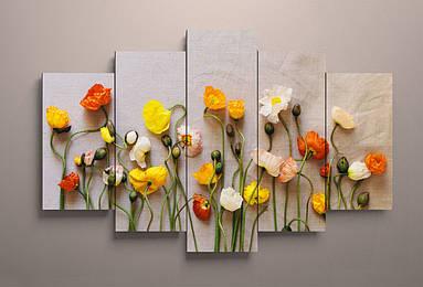 Фотокартина модульная Цветы