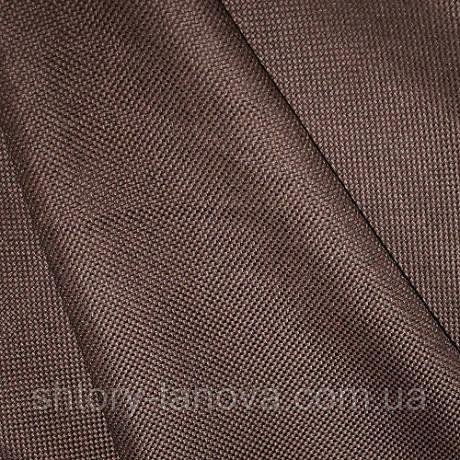Рогожка двухсторонняя темно-коричневая