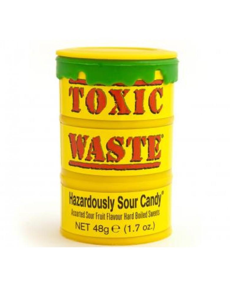 Конфеты Toxic Waste Yellow