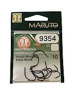 Крючок Maruto 9354 Black Nickel 10шт №1/0