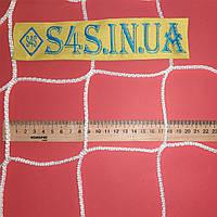 Спортивная сетка безузловая испанская, полипропилен, D – 3 мм, ячейка – 10 см, для ограждения площадок, белая