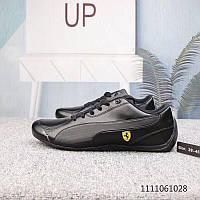 Мужские кожаные кроссовки PUMA FUTURE Kart CAT low x FERRARI р.41,42,45, фото 1