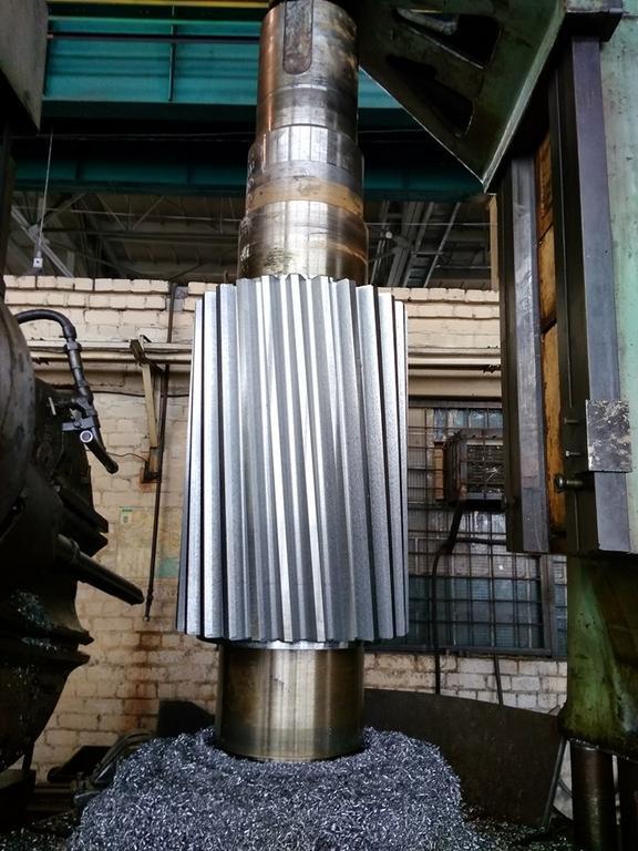 Вал шестерня. Изготовление компанией Укрремпром в городе Днепр