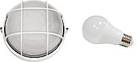Светильник ЖКХ НПП 04 У-61 (метал/стекло) Антивандальный + LED лампа 7Вт