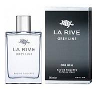 Туалетна вода для чоловіків La Rive Grey Line 90 мл (5906735234077)
