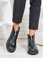 Ботинки женские Ameno натуральная кожа- качественная женская обувь