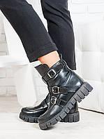 Ботинки женские из натуральной кожи - качественная комфортная стильная женская обувь