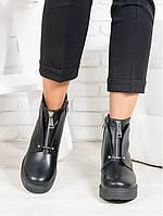 Ботинки женские из натуральной кожи - качественная стильная удобная женская обувь