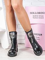 Ботинки женские кожаные - удобные кожаные женские ботиночки из натуральной кожи