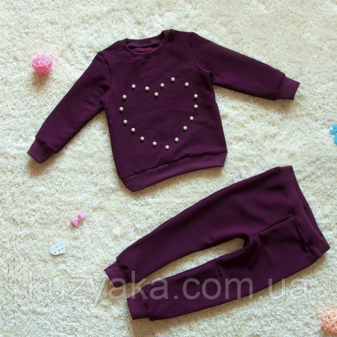 Детский костюм Сердечко для девочки 86-128