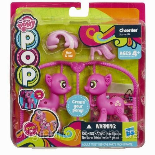Набор My Little Pony Поп конструктор Создай свою пони Пони Чирайли Hasbro A8208