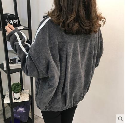 Женская  вельветовая курточка  на меху, фото 2