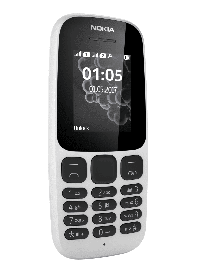 Телефон Nokia 105 DS White 2017