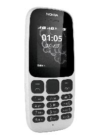 Телефон Nokia 105 SS White 2017