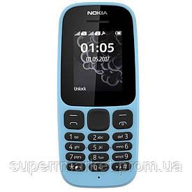 Телефон Nokia 105 SS Blue 2017