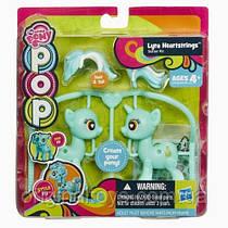 Набор My Little Pony Поп конструктор Создай свою пони Пони Лира Хартстрингс Hasbro A9336