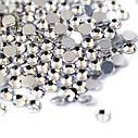 Стразы Crystal блестящие SS3 1,3 - 1,4 мм (1440шт), фото 2