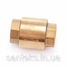 Клапан зворотний діаметр 15 латунь