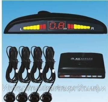 🔥✅ Автомобильный парктроник на 4 датчика + дисплей, парктроник автомобильный