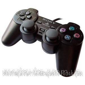 🔥✅ Джойстик PS2 GamePad DualShock Sony PlayStation 2 проводной джойстик для Play Station 2