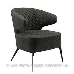 Кресло лаунж Keen (Кин) нефтяной серый, Concepto