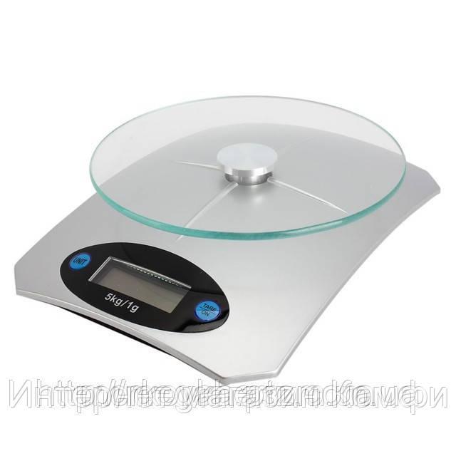 🔥✅ Кухонные электронные весы Domotec MS-KE5 от 1г до 5 кг Air Glass