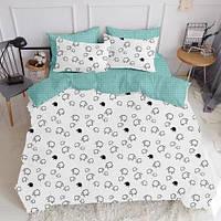 Комплект семейного постельного белья SHEEP DROP MINT (хлопок, бязь), фото 1