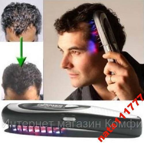🔥✅ Лазерная расческа против выпадения волос Power Grow Comb осстанавливает потерю волос